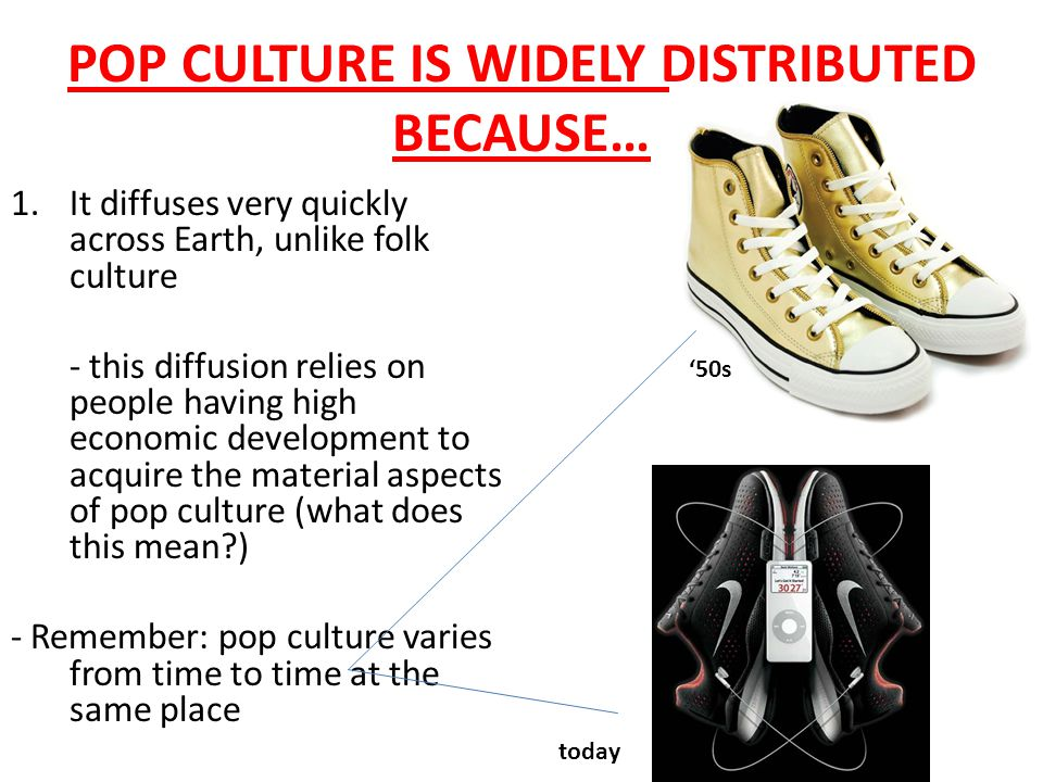 ISSUE #3 Why is Popular Culture Widely Distributed?