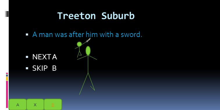 One day at a time of a war their was a stickman who fought in that war.