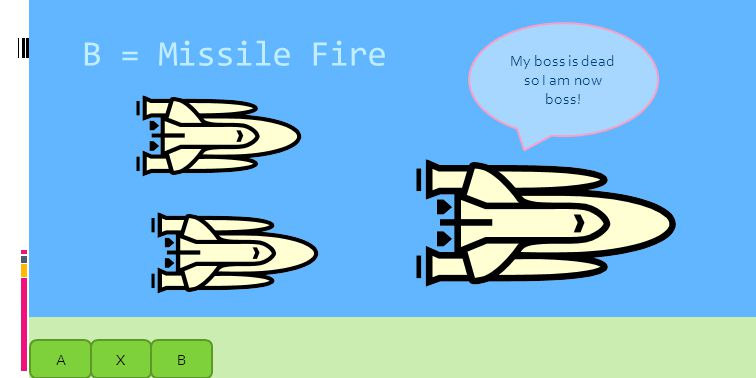 AXB Kyle: What the hell are these things? Should we fly them? To shoot missiles? Get to the volcano quicker? Jaidyn: ????? Press a shuttle to fly