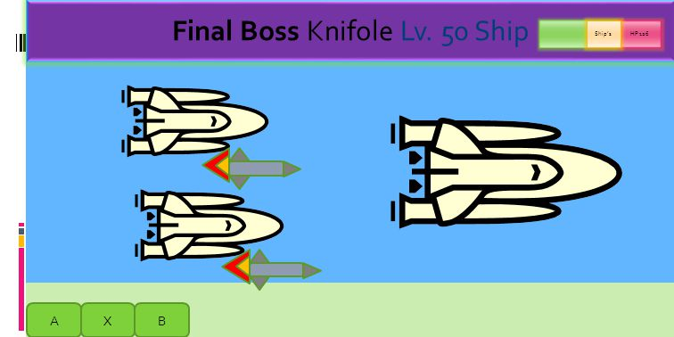 B = Missile Fire AXB My boss is dead so I am now boss!