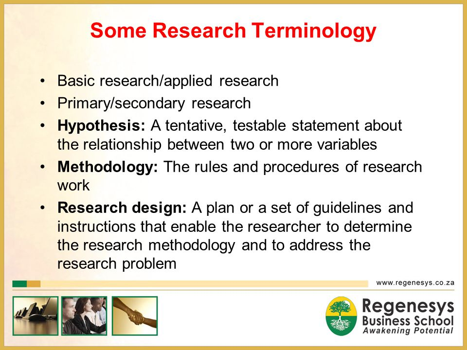 Research Report and Mini-Dissertation Technical Aspects – language editing; writing style; use of tense; abbreviations and acronyms; graphics Layout – pp 82-85; Regenesys Masters Dissertation Guidelines