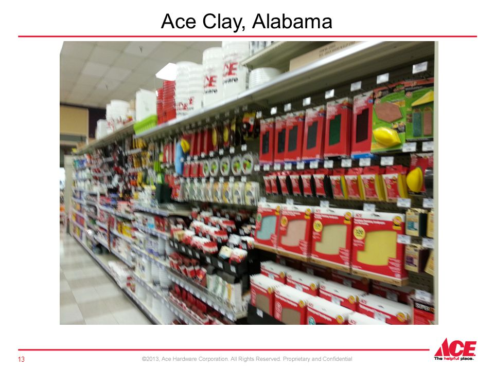Ace Clay, Alabama 13