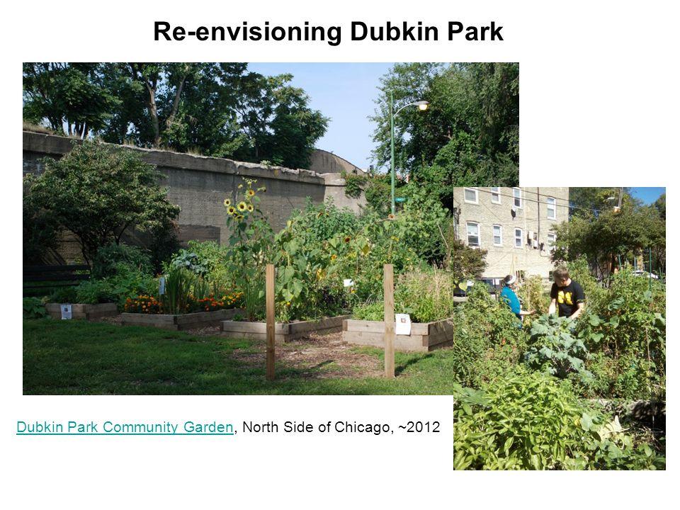 Dubkin Park Community GardenDubkin Park Community Garden, North Side of Chicago, ~2012 Re-envisioning Dubkin Park