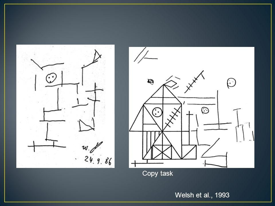 Copy task Welsh et al., 1993