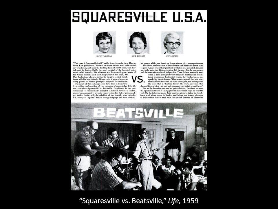 Squaresville vs. Beatsville, Life, 1959