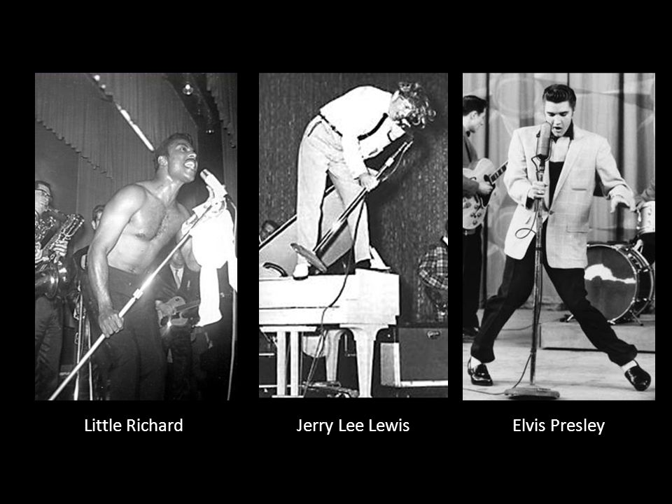 Little RichardJerry Lee LewisElvis Presley