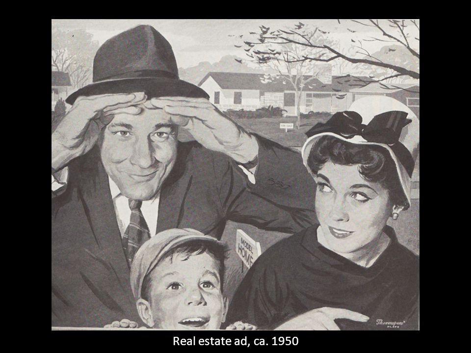 Real estate ad, ca. 1950