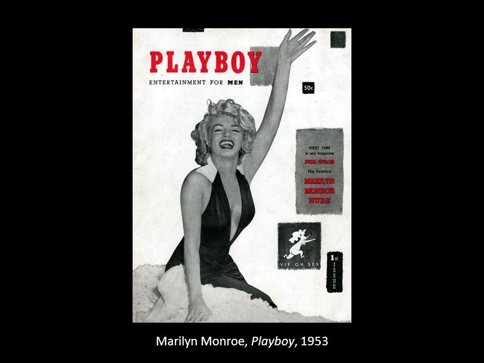 Marilyn Monroe, Playboy, 1953