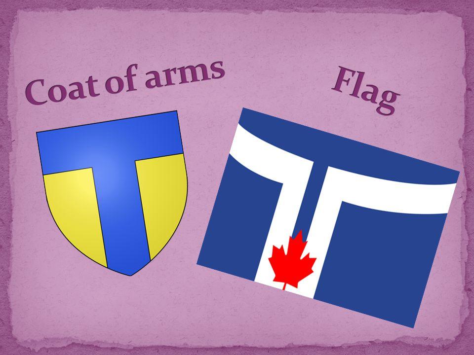 Toronto covers an area of 630 square kilometers.
