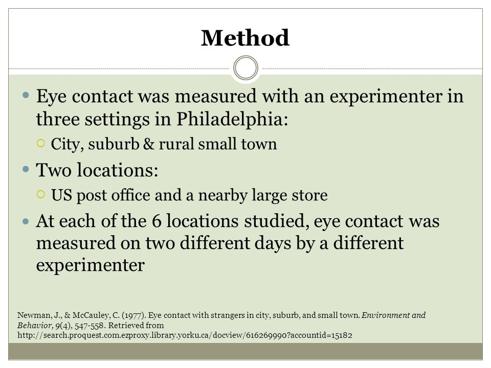 Liu's Findings in 1970 Only one urban place in the United States go straight As in all areas, Portland, Oregon.