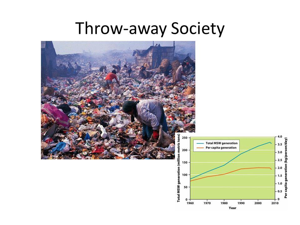 Throw-away Society