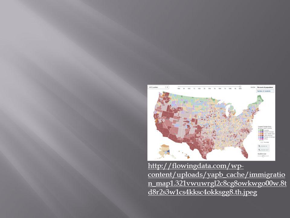 http://flowingdata.com/wp- content/uploads/yapb_cache/immigratio n_map1.321vwuwrgl2c8cg8owkwgo00w.8t d8r2s3w1cs4kksc4okksgg8.th.jpeg