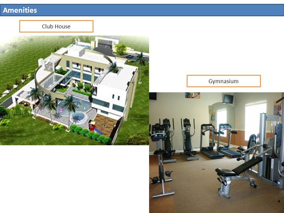 Amenities Club House Gymnasium