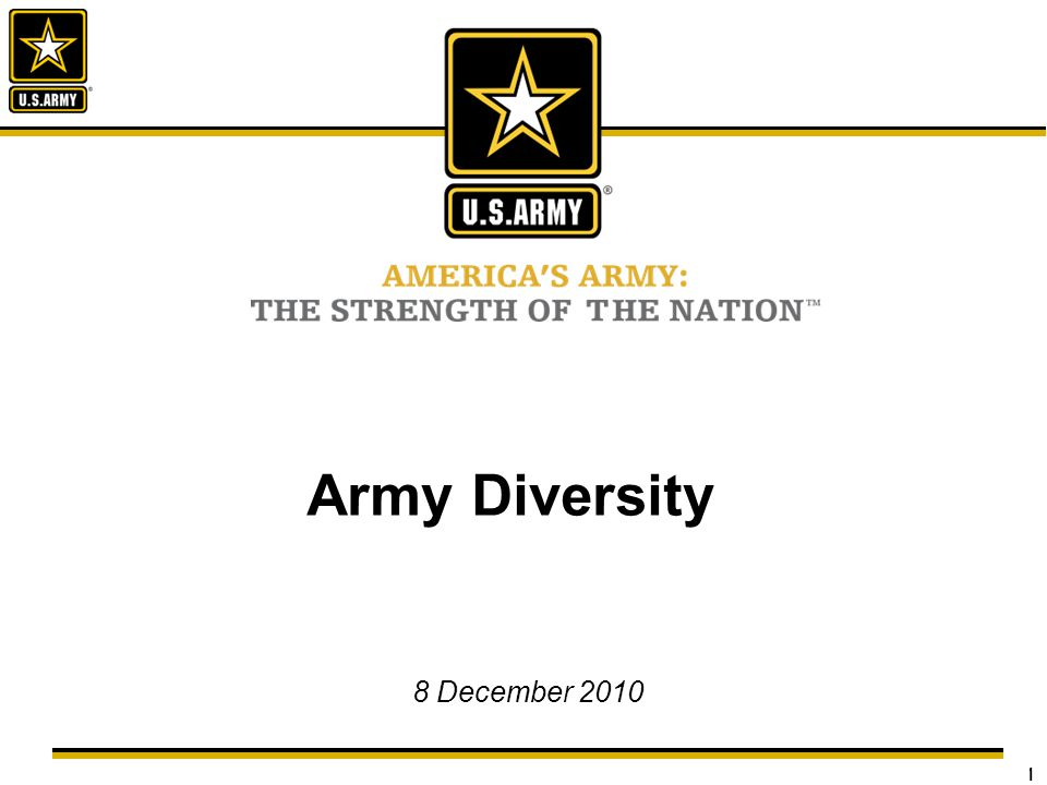 2 As we continue to expand the knowledge and understanding of the diversity within our ranks, not only will our strength, versatility, and efficiency be amplified, but we will be more effective in understanding the cultures and environments where we serve.
