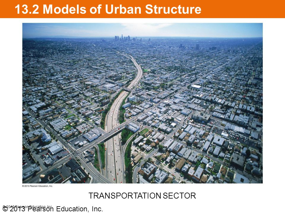 13.2 Models of Urban Structure Multiple nuclei model C.
