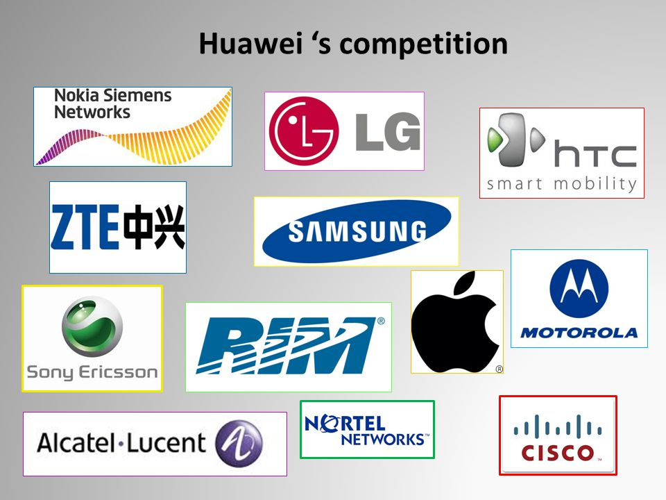 Huawei 's competition