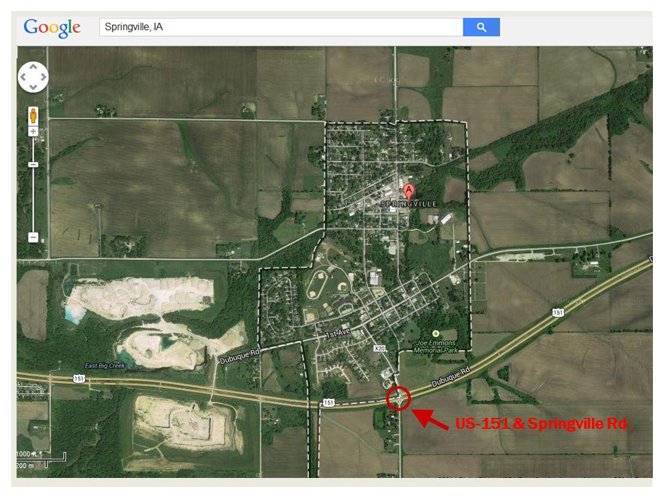 US-151 & Springville Rd.