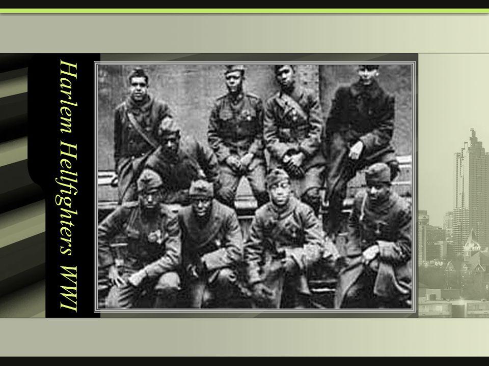 Harlem Hellfighters WWI
