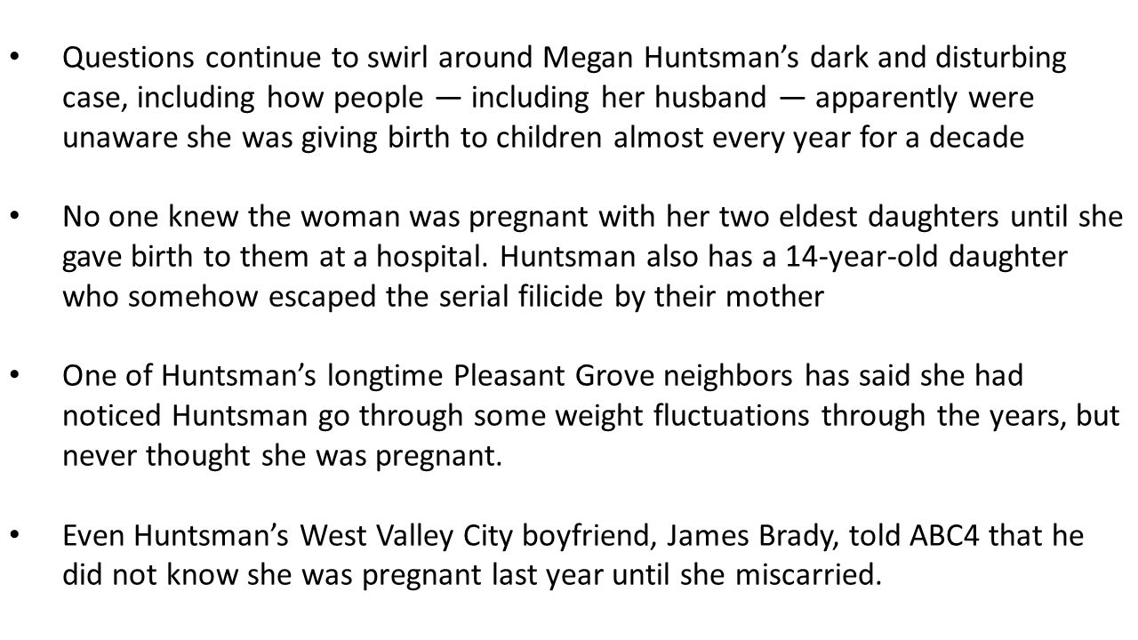 April 21, 2014 court appearance By Jessica miller The Salt Lake Tribune Provo Criminal charges against a woman accused of killing six of her babies likely won't be filed until her court appearance next week.