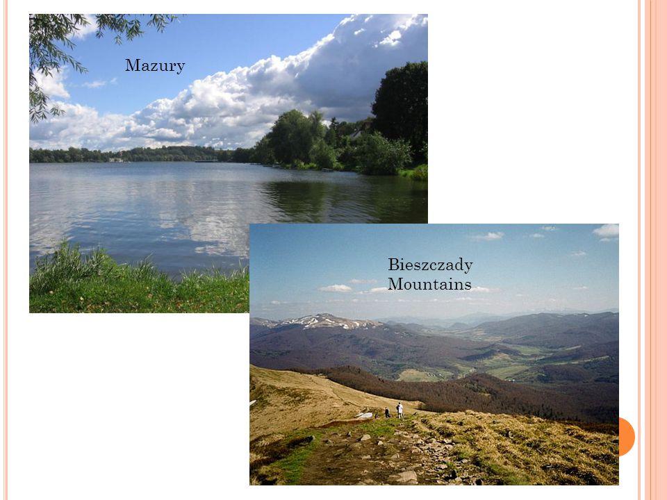 Mazury Bieszczady Mountains