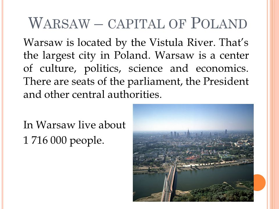 Palace of Culture and Science Old Town in Warsaw