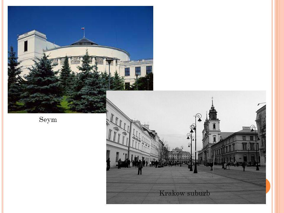 Seym Krakow suburb