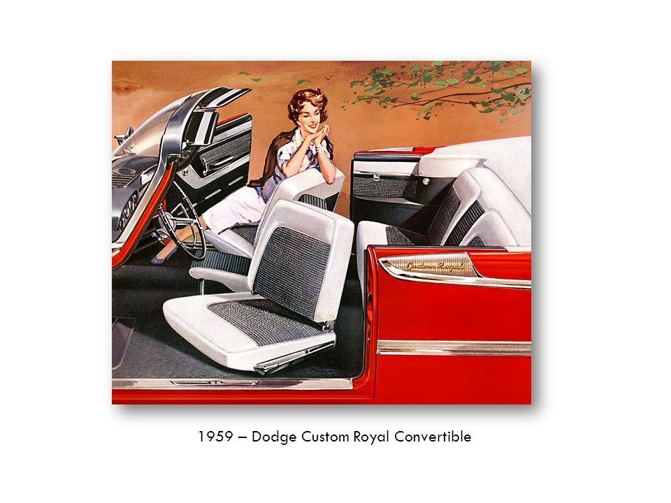 1959 – Dodge Custom Royal Convertible