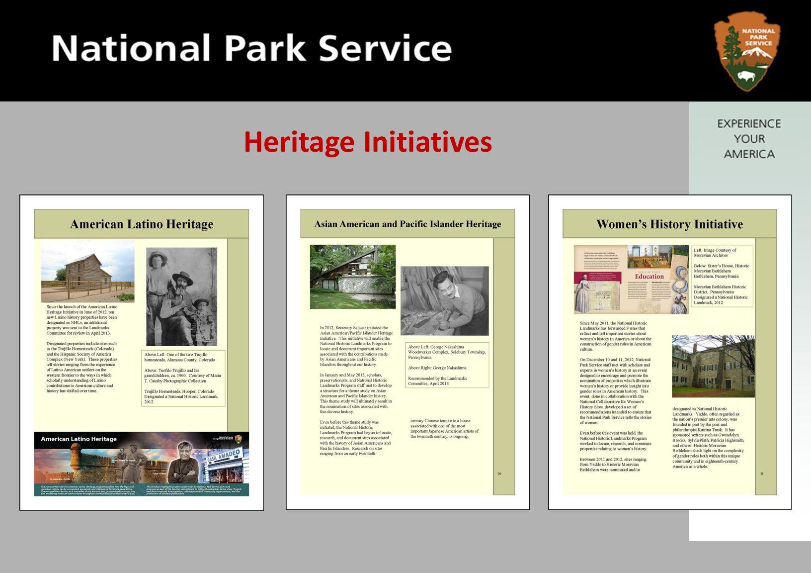 Heritage Initiatives
