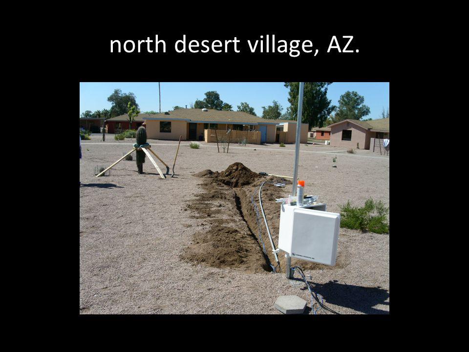 north desert village, AZ.