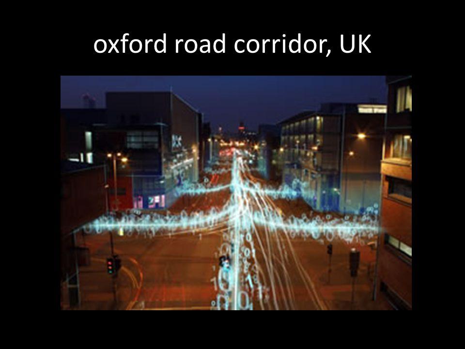 oxford road corridor, UK