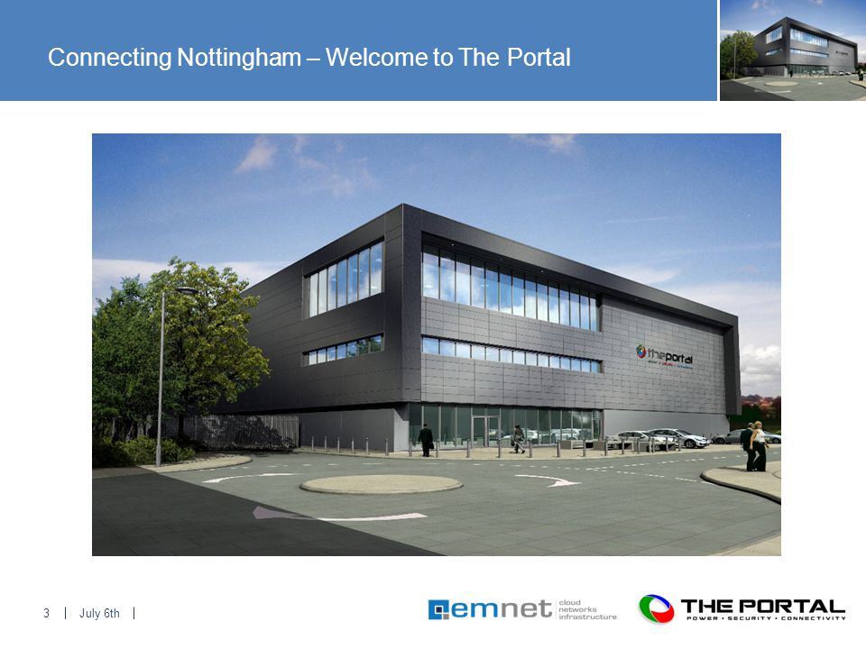 July 6th3 Connecting Nottingham – Welcome to The Portal