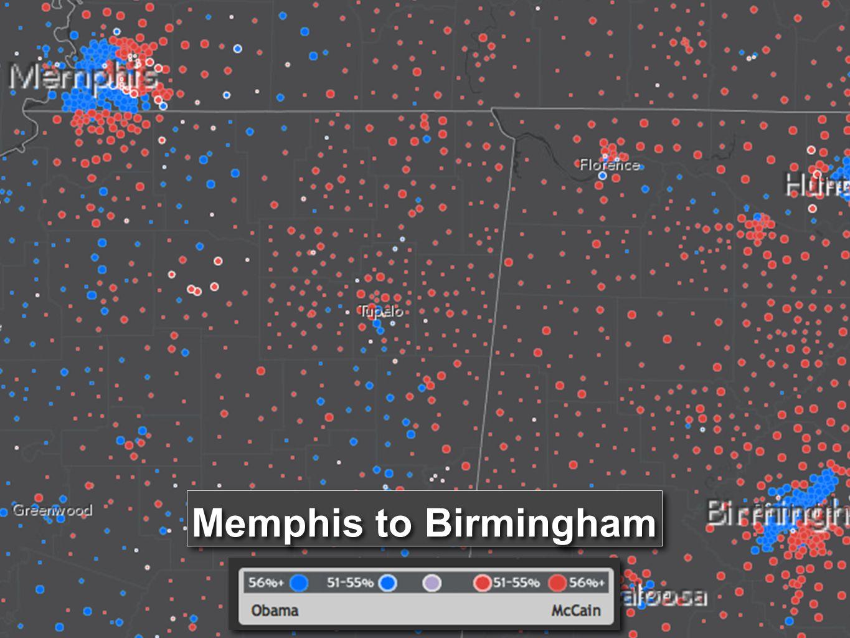 Memphis to Birmingham