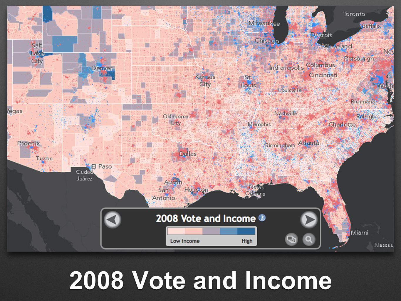 2008 Vote and Income