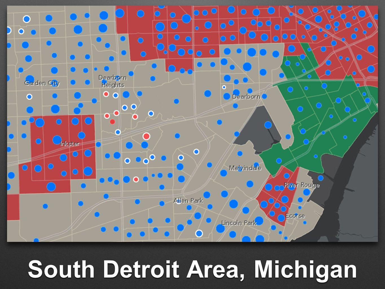South Detroit Area, Michigan