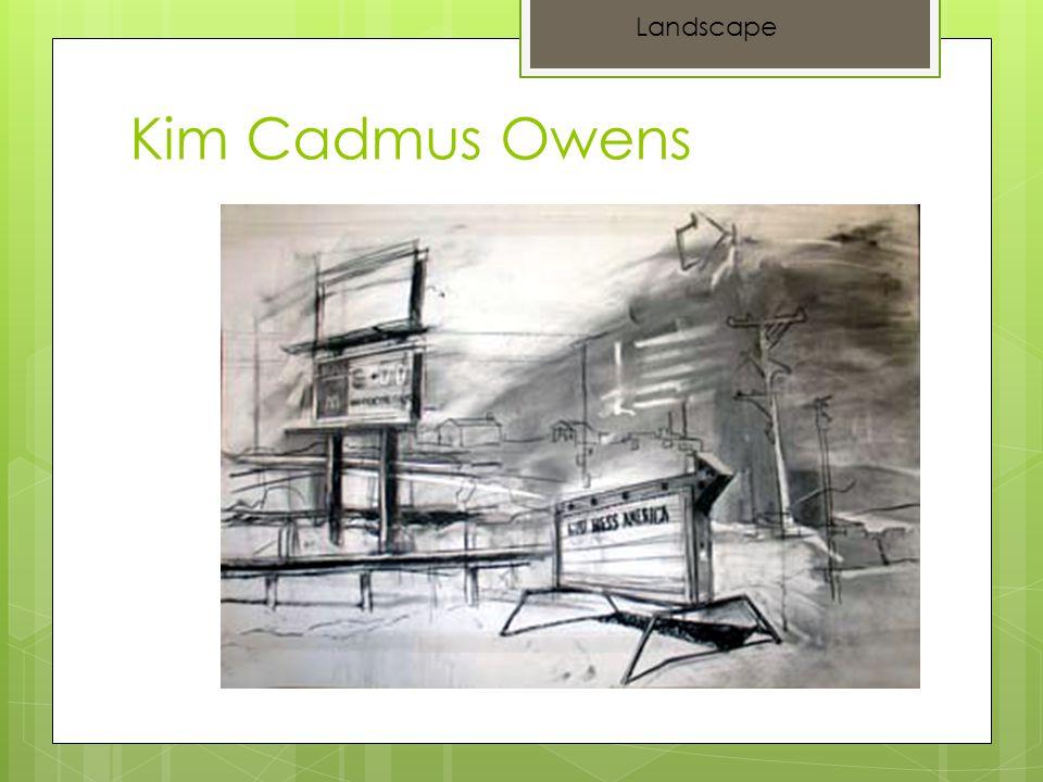 Kim Cadmus Owens Landscape
