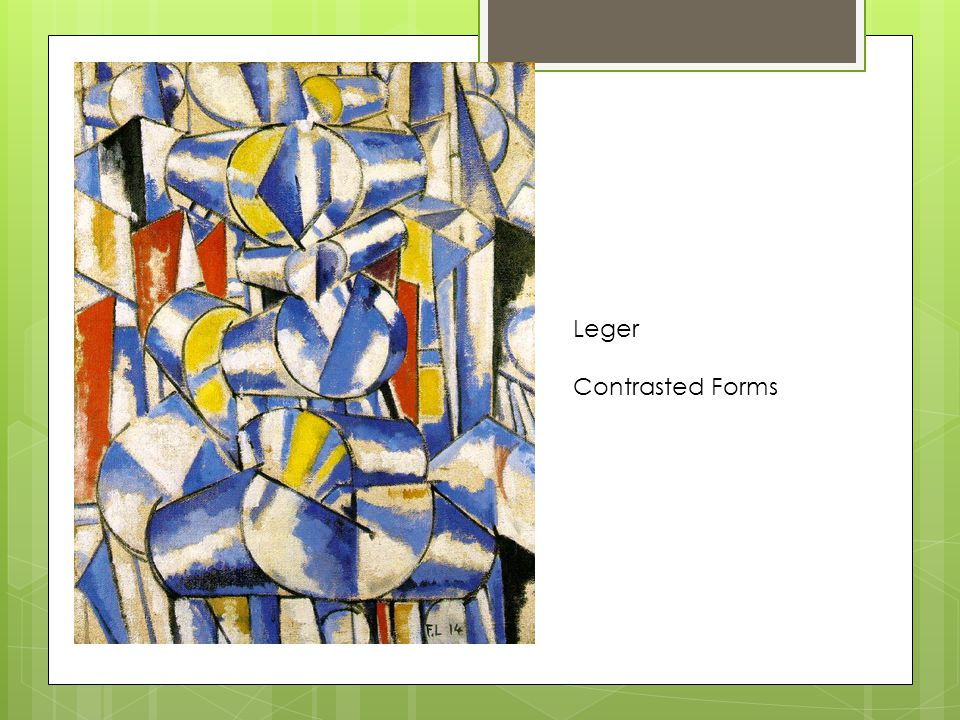 Leger Contrasted Forms