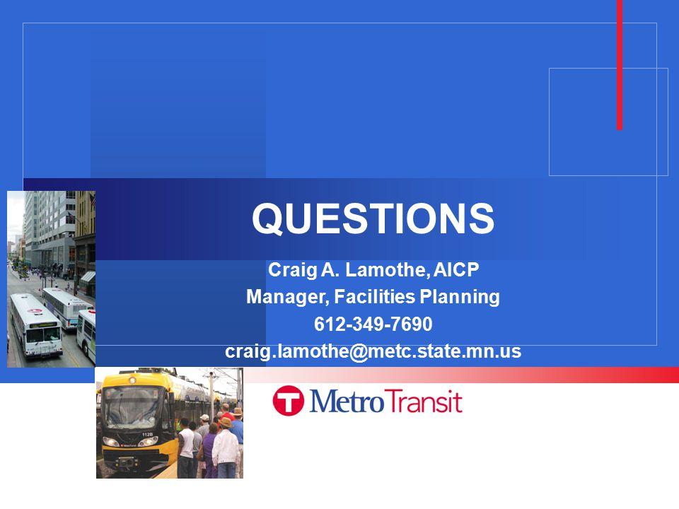 QUESTIONS Craig A.