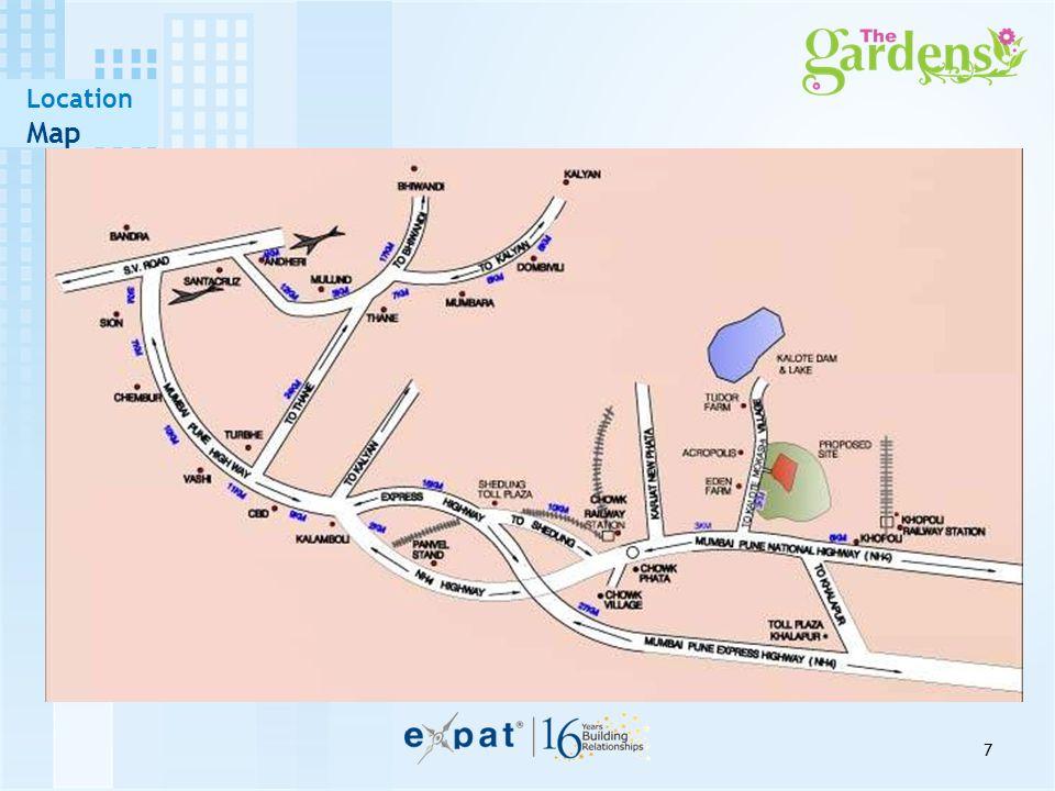 7 Location Map