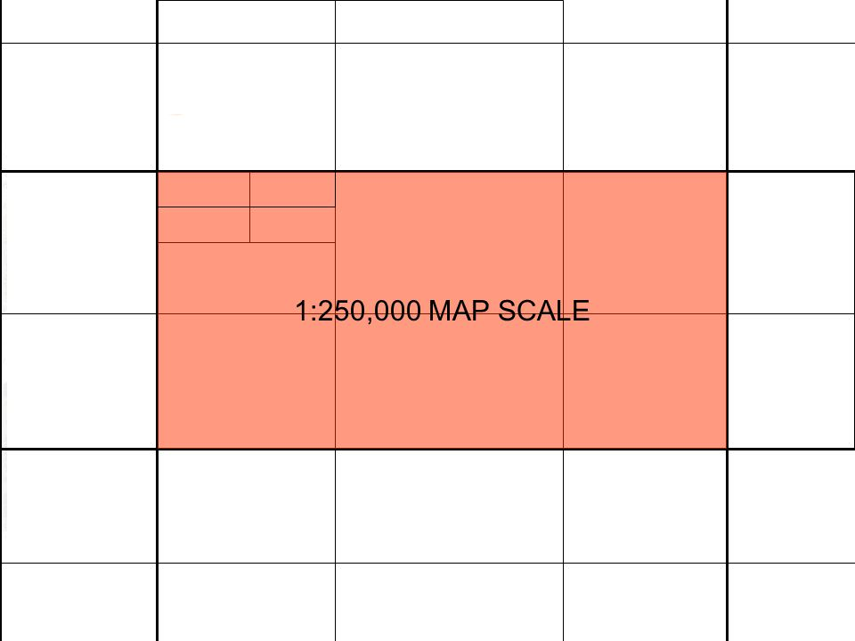 1:250,000 MAP SCALE