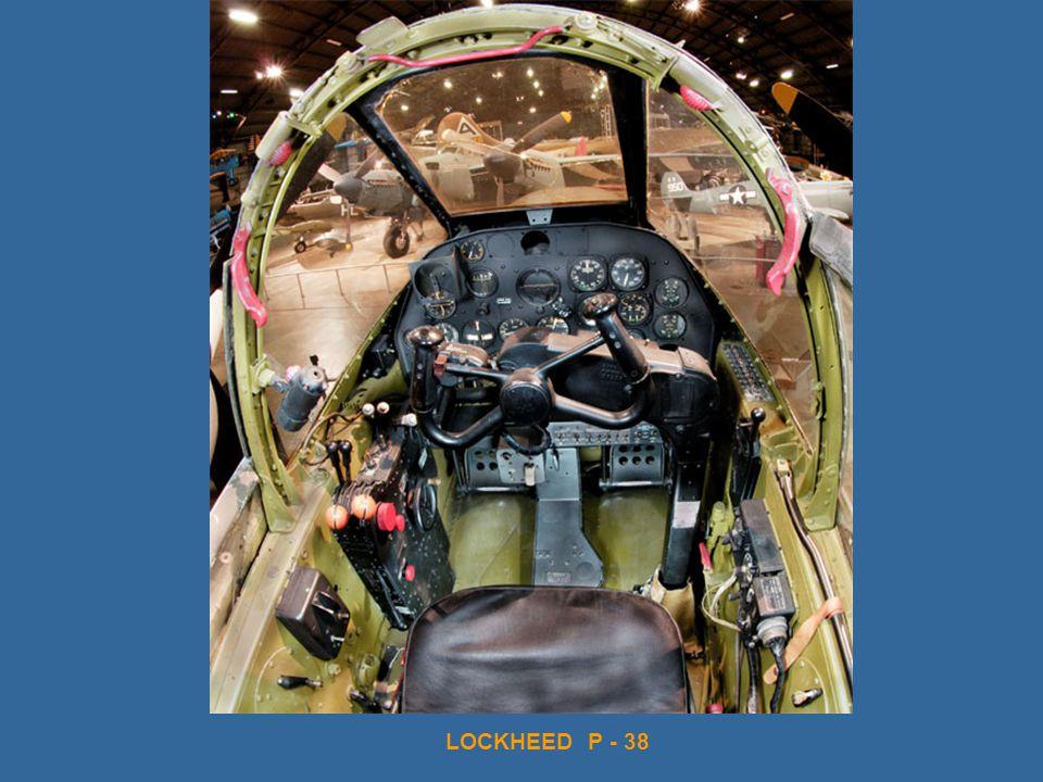 LOCKHEED P - 38