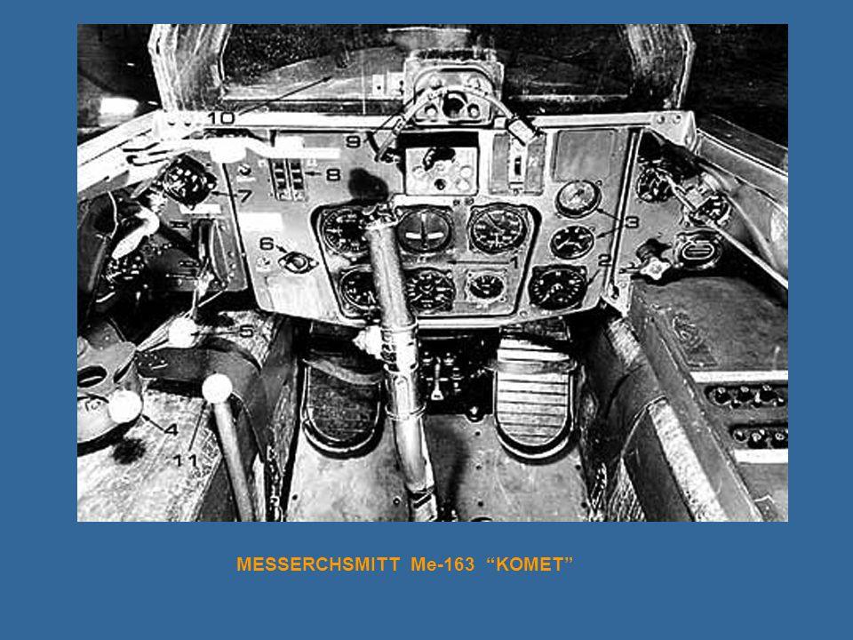 MESSERCHSMITT Me-163 KOMET
