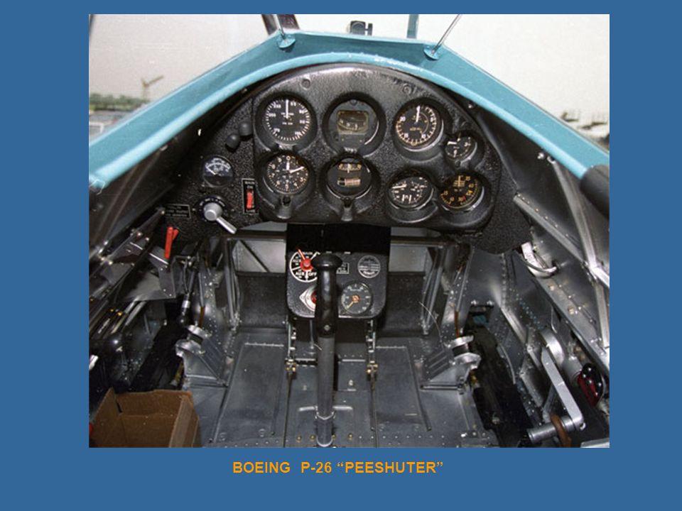 BOEING P-26 PEESHUTER