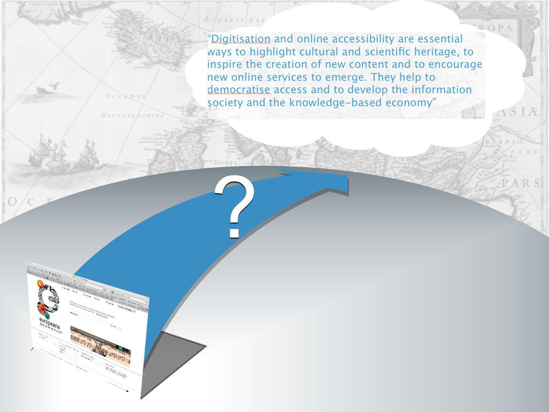 AGGREGATE DISTRIBUTE FACILITATE 1 3 2 ENGAGE 4 Europeana Strategic Plan 2011-2015