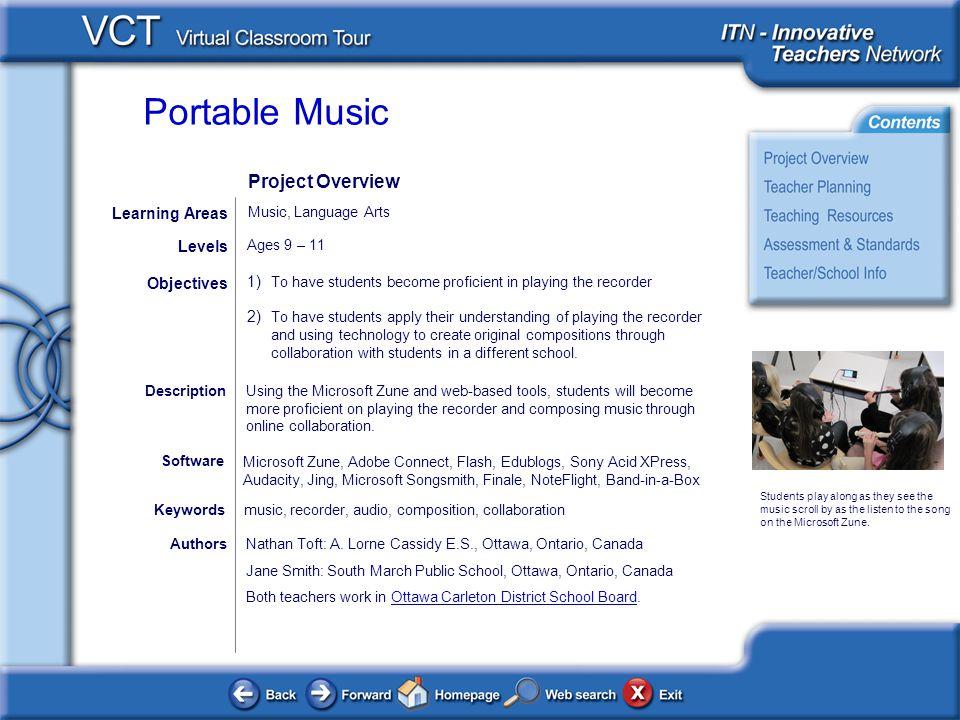 Portable Music AuthorsNathan Toft: A.
