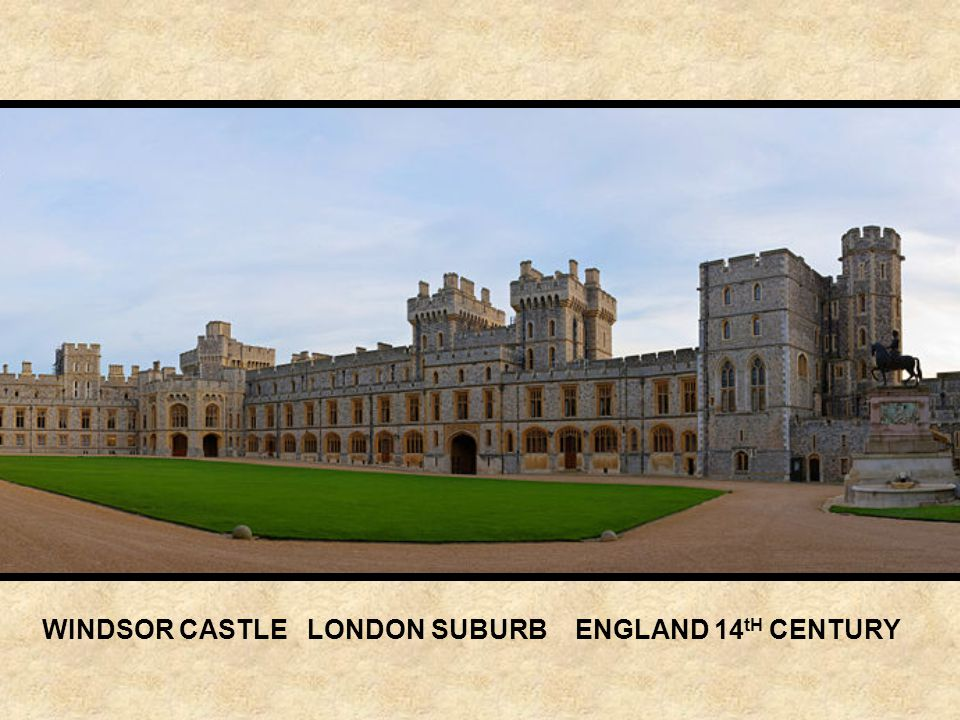 WARWICK CASTLE ENGLAND 12 th CENTURY