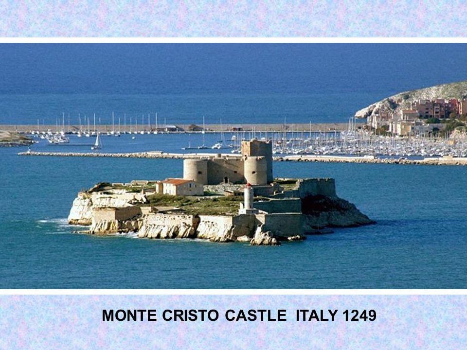 MONT SAINT MICHEL CASTLE (MONASTERY) FRANCE 10 th CENTURY