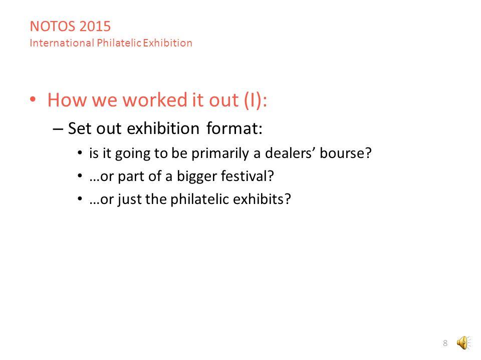 NOTOS 2015 International Philatelic Exhibition 38 European South