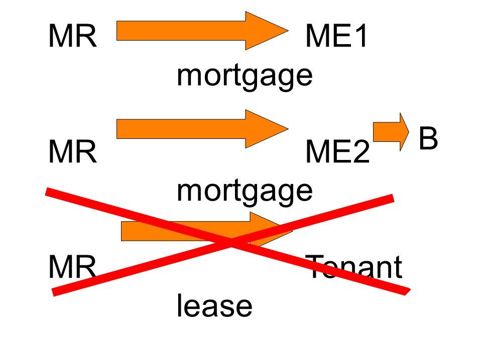 MRME1 mortgage MRME2 mortgage MRTenant lease B