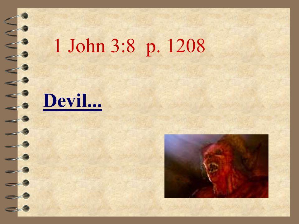 …death... Rom 6:23 p. 1117