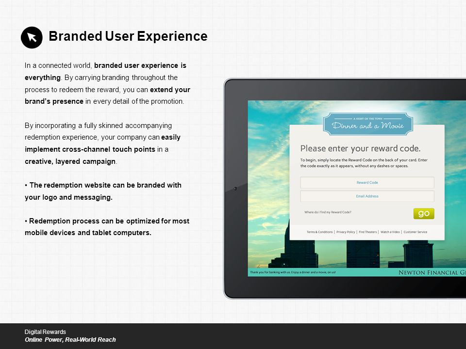 In a connected world, branded user experience is everything.